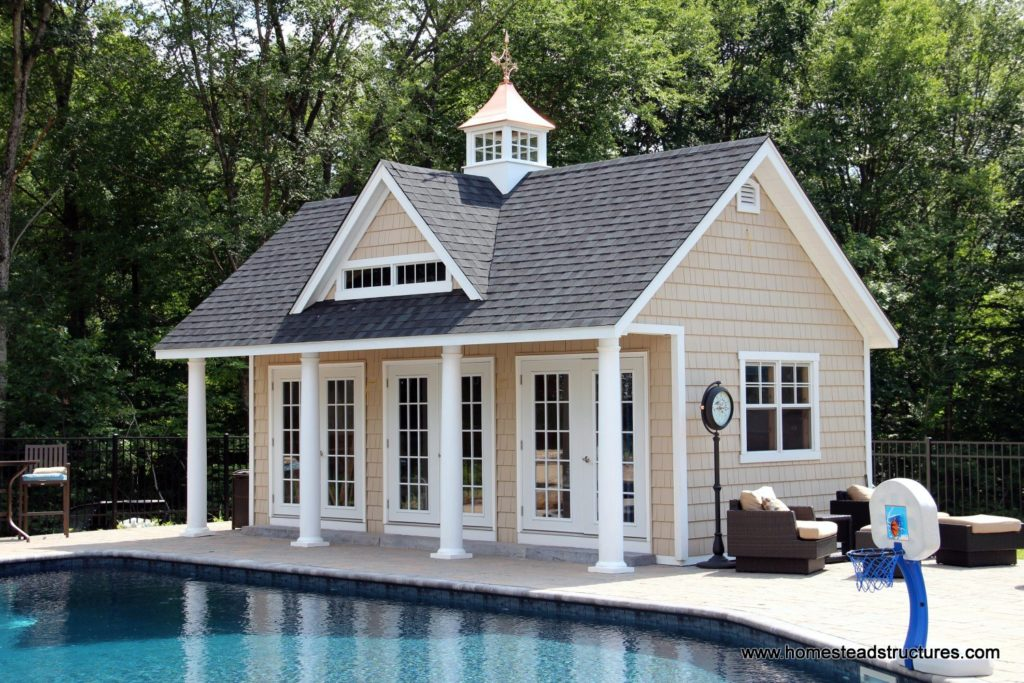 Heritage Pool House Example