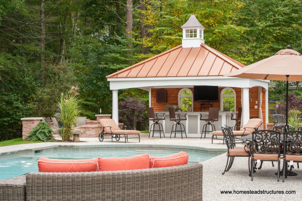 Avalon Pool House Example